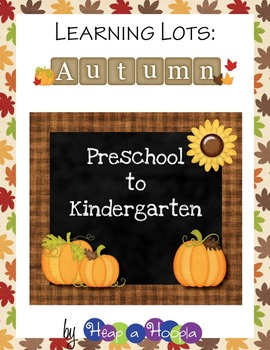 Fall Games and Activities for Preschool & Kindergarten
