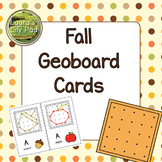 Fall Geoboard Cards