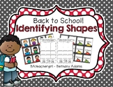 Back to School Identifying Shapes