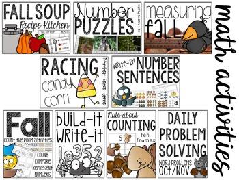 Fall: Got It All Bundle! (Math, Literacy, Science & More)