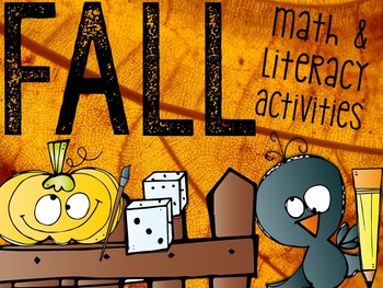 Fall: Got It All Bundle! (Math, Literacy, Science & More)