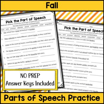 Fall Grammar