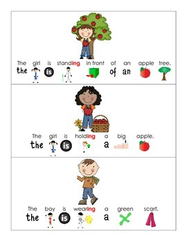Fall Grammar Activities for Pre-k/K