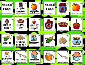 Fall Grammar Bundle Differentiated Activities