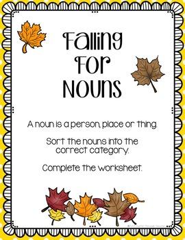 Fall Grammar Centers for Reading Grade 2