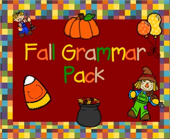 Fall Grammar Pack