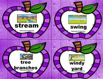 Fall Grammar Pocket Chart Differentiated Activities