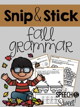 Fall Grammar: Snip and Stick