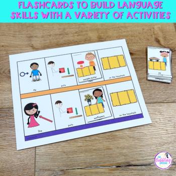 Fall Themed Vocabulary & Grammar Activities
