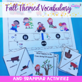 Fall Themed Vocabulary & Grammar Activities