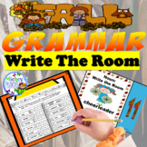 Fall Grammar Write the Room Five Lessons