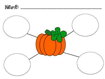 Fall Graphic Organizers
