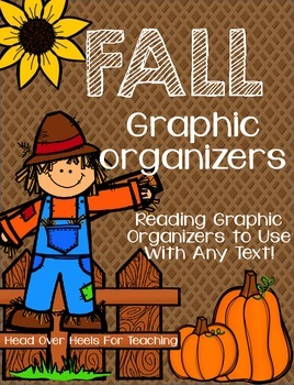 Fall Graphic Organizers For Reading {Use with ANY text!}