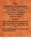 Fall Graphic Organizers  TKES CCGPS