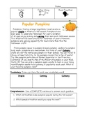 Fall Guided Reading Comprehensions- Bundle of 2!