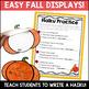 Fall Haiku Writing Unit and Display