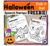 Fall Halloween Activities for Speech Therapy FREE! | Dista