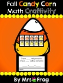Fall / Halloween Candy Corn Math Craftivity