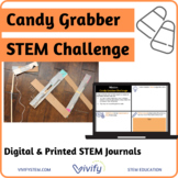 Fall/ Halloween Candy Grabber STEM Challenge