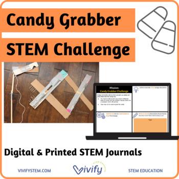 Fall/ Halloween Candy Grabber STEM Challenge