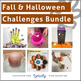 Fall & Halloween STEM Challenges Activity Bundle