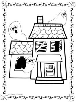Fall and Halloween Coloring Pages FREEBIE