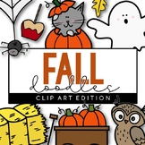 Fall/Halloween Doodles - Clip Art [IN COLOR!]