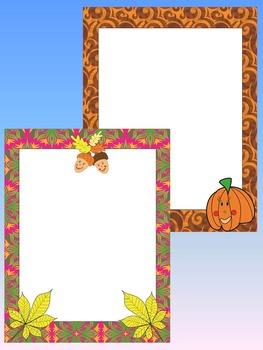 Fall - Frames - Clip Art