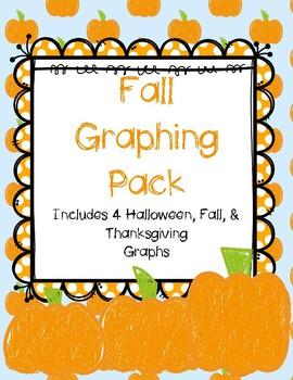 Fall /Halloween Graphing {Math Centers} Pre-K Kindergarten