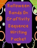 Fall Halloween Hands On Writing Craftivity for Sequencing 3rd Grade CC Aligned