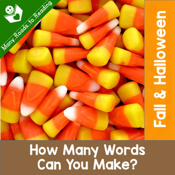 Fall & Halloween How Many Words Can You Make?