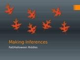 Halloween Inferencing Activity