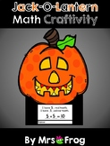 Fall / Halloween Jack-O-Lantern Math Craftivity