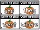 Fall / Halloween Literacy Center:  Write the Room (Level D - Jan Richardson)
