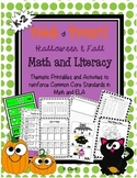 Fall ~ Halloween Math & Literacy Activities ~ Printables ~ Centers {Common Core}