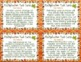 Fall Multi-Digit Multiplication Task Cards { CCSS Word Problems }