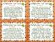 Fall Multi-Digit Multiplication Task Cards