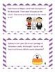 Fall Halloween Multiplication Word Problem Task Cards