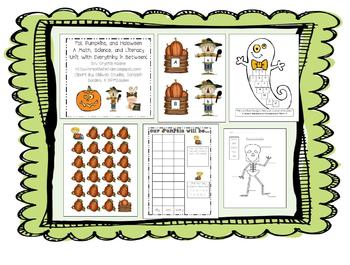 Fall, Halloween, Pumpkins, Turkeys, Pilgrims, Indians, & Thanksgiving MEGA UNIT