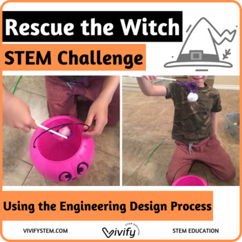 Fall/ Halloween STEM Challenge - Rescue the Witch