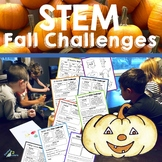 Fall and Halloween STEM challenges