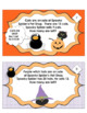 Halloween Math Spooky Spider's Word Problems and Task cards! Grades 1 - 2