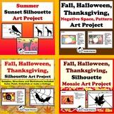 Fall, Halloween, Thanksgiving, Art Project Bundle