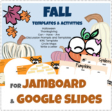 Fall Halloween Thanksgiving Jamboard Google Slides