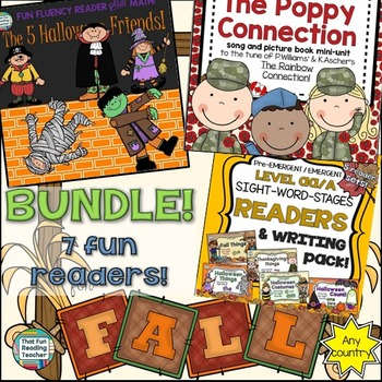 Autumn Readers: Readers for Fall Bundle!