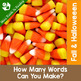 Fall & Halloween Parts of Speech, Syllables, ABC Order, Making Words BUNDLE