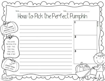 Fall & Halloween Writing Activities