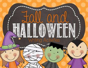 Fall & Halloween Writing Activities
