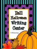 Fall Halloween Writing Workstation/Center Pack
