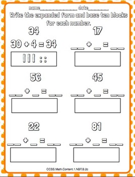 Fall, Halloween and Thanksgiving Literacy and Math Packet